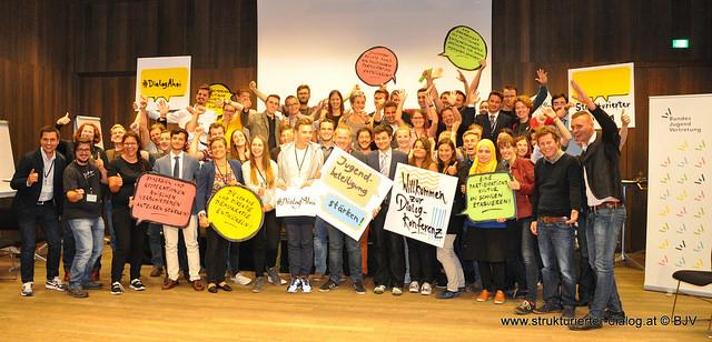 Dialogkonferenz Gruppenfoto