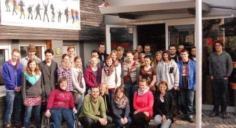 Jugendrat Traunsteinregion Gruppenfoto